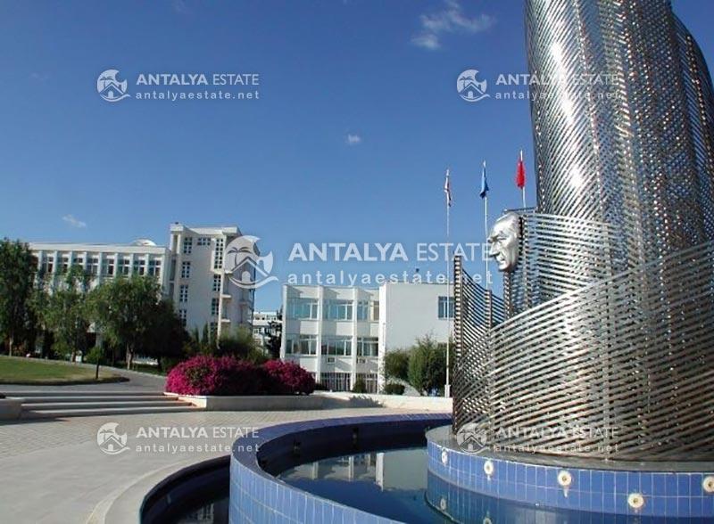 Введение в университет Ак Дениз (Средиземноморье)