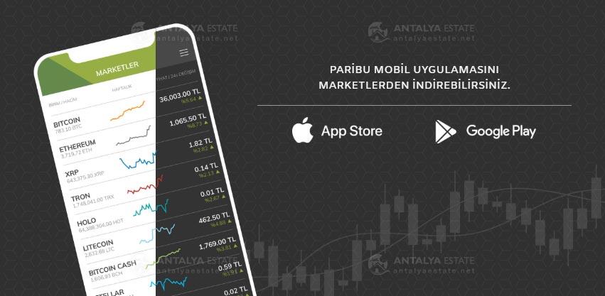 Paribu is a Turkish digital currencies exchange