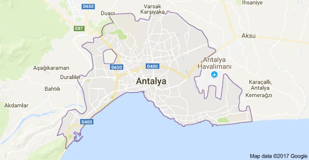 مناطق اصلی شهر آنتالیا  برای خرید خانه | لارا کنیالتی کپز