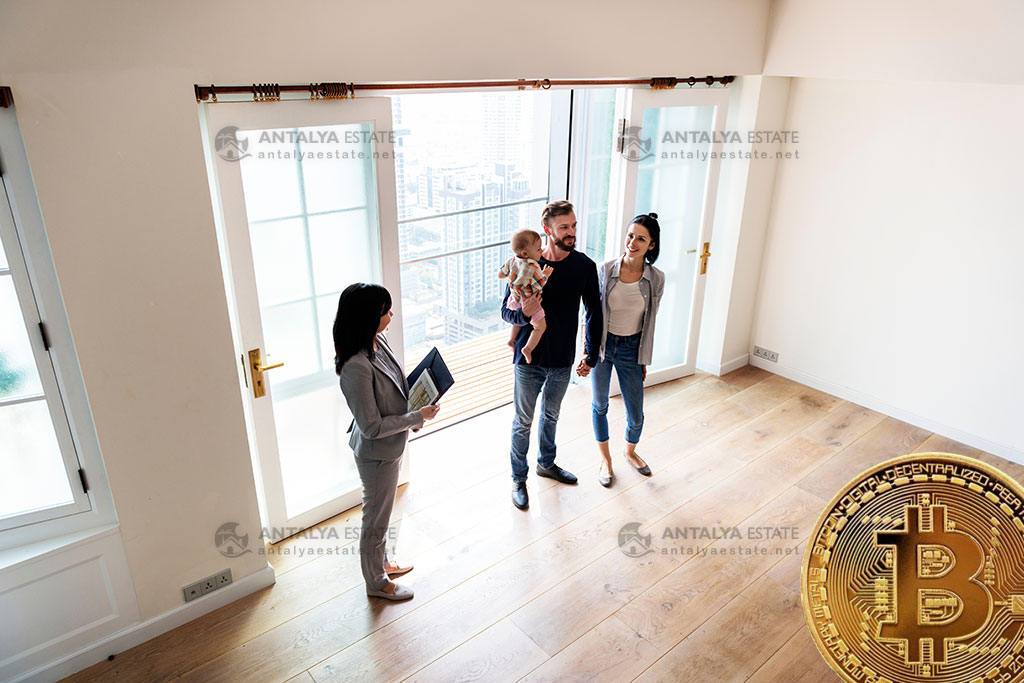 Buy Property with digital currency