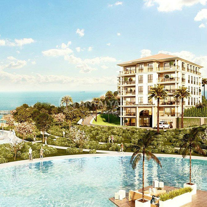 Недвижимость в стамбуле у моря отель купить в европе