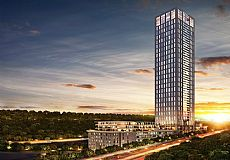 Nurol Life, Property in fourth tallest building in Istanbul Turkey for sale