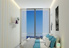 Marine Tower, Cheap Sea View Properties for Sale in Alanya  - 5