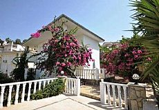 ALA15, Cheap Furnished Villa with Sea View in Alanya Turkey