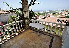 ALA15, Cheap Furnished Villa with Sea View in Alanya Turkey - 8
