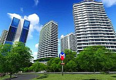 GOP Plevne, Apartments and Commercial Spaces for Sale in Gaziosmanpasha, Istanbul
